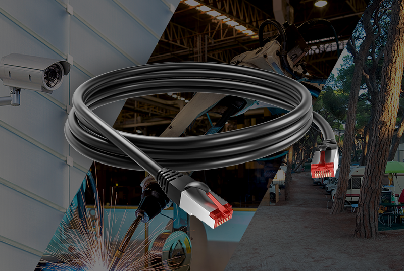 Polyurethane RJ45 cordsets to suit even the most demanding requirements - New from AXINDUS