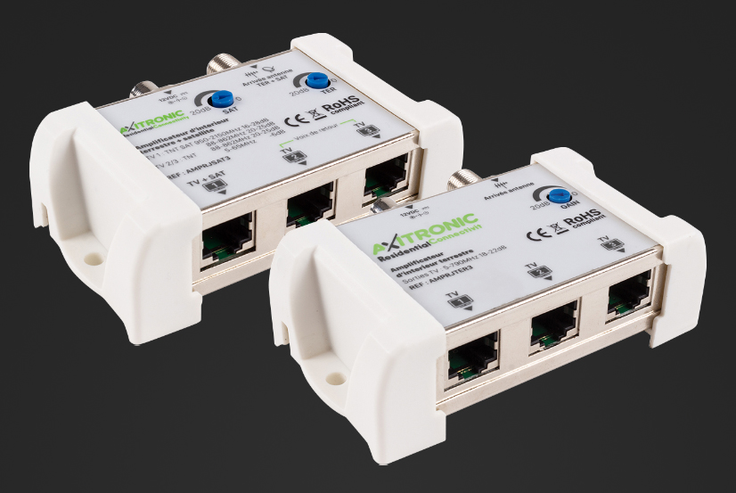 Boost your TV signal with the new indoor RJ45 TV signal amplifiers