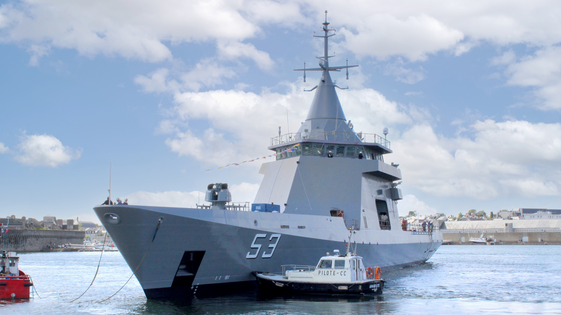 boat of the Argentinean Navy.