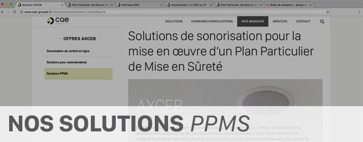 Our solutions - PPMS